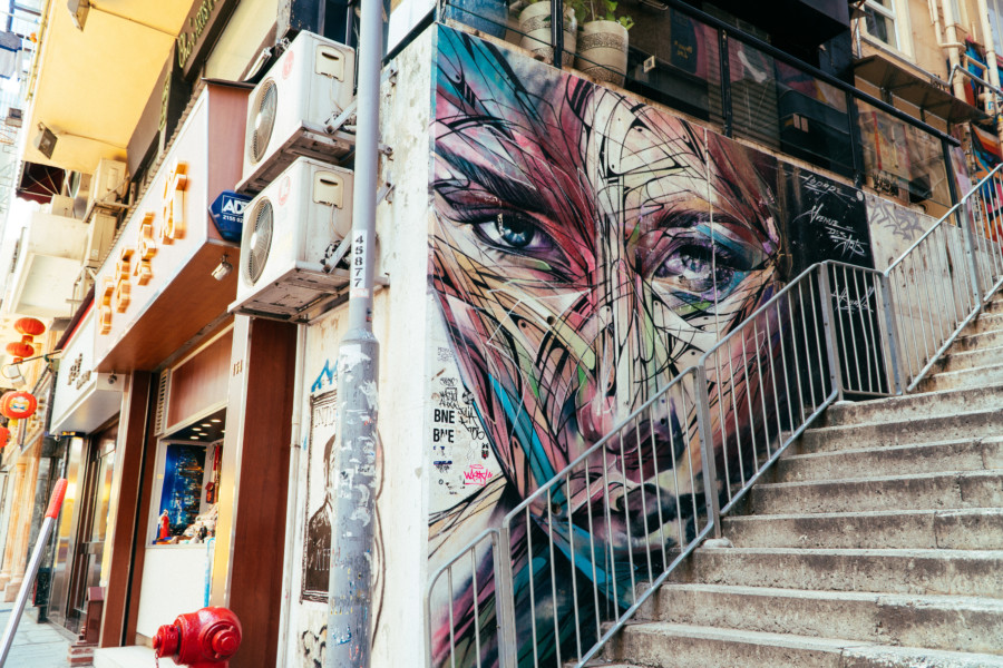 street art in Sheung Wan guide