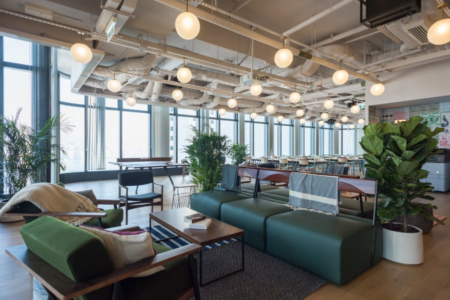 coworking spaces in Hong Kong wework