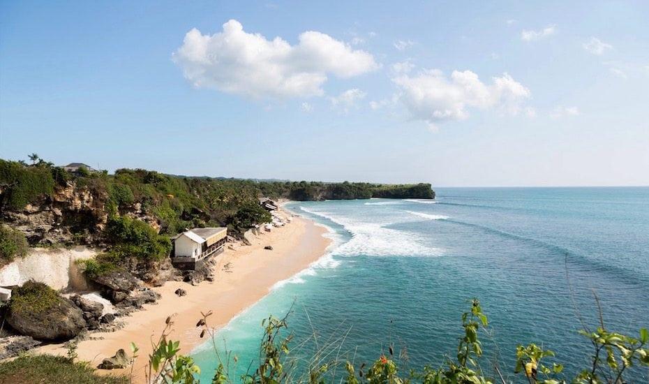 best beaches in Bali Balangan Beach Uluwatu