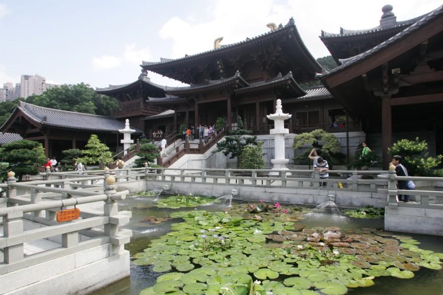 Buddhist temple Hong Kong Chi Lin Nunnery