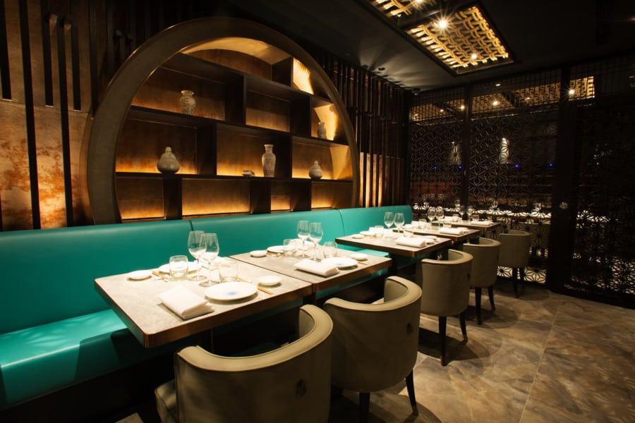 Fang Fang new restaurant LKF Tower Central Hong Kong bar Asian food Private Room