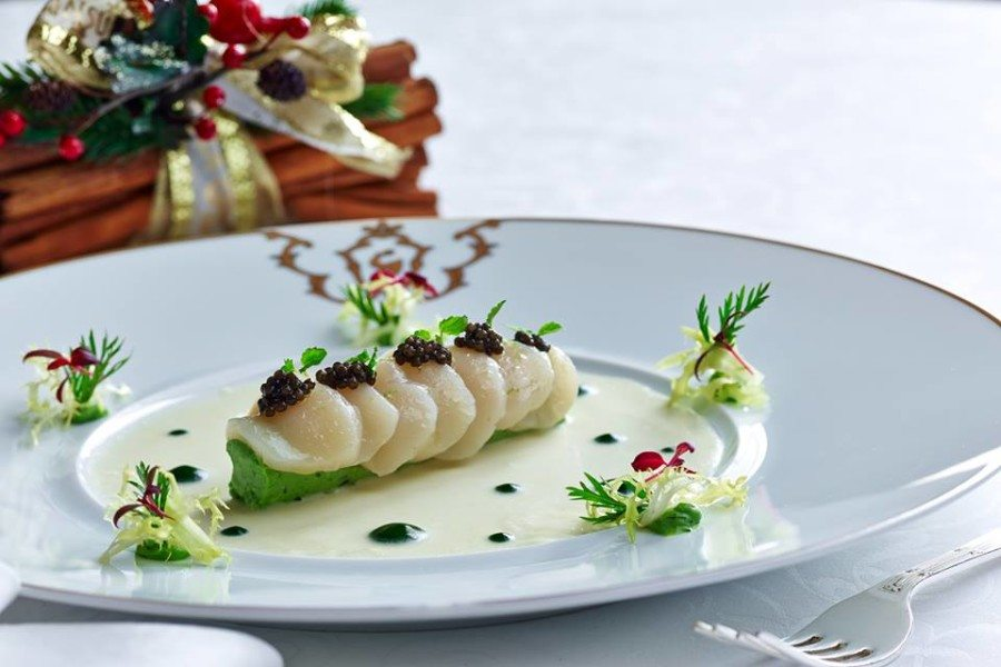 French restaurants in Hong Kong French cuisine Gaddis fine dining plate of food