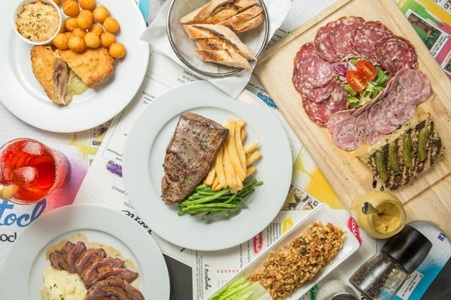 French restaurants in Hong Kong French cuisine La Cantoche flat lay of dishes