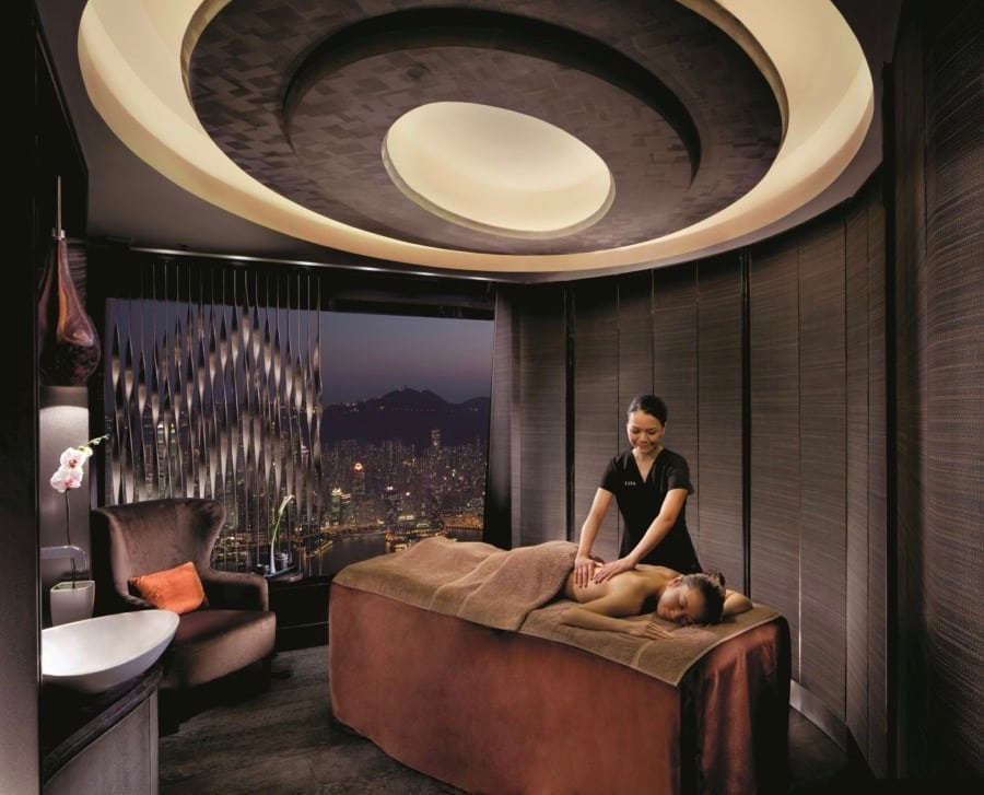 hotel spa luxury hotel Hong Kong skin beauty RITZ CARLTON