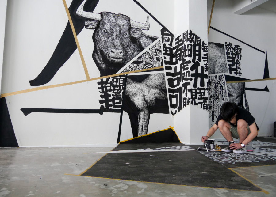 What's on in Hong Kong: The 六合彩 MARK6 pop-up exhibition at Yat Fu Lane in Shek Tong Shui brings six Hong Kong artists to the street