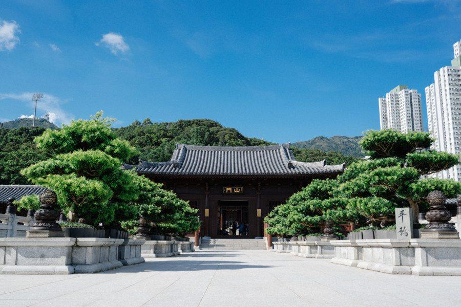 Chi Lin Nunnery Nan Lian Hall