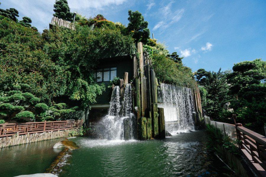Chi Lin Nunnery waterfall