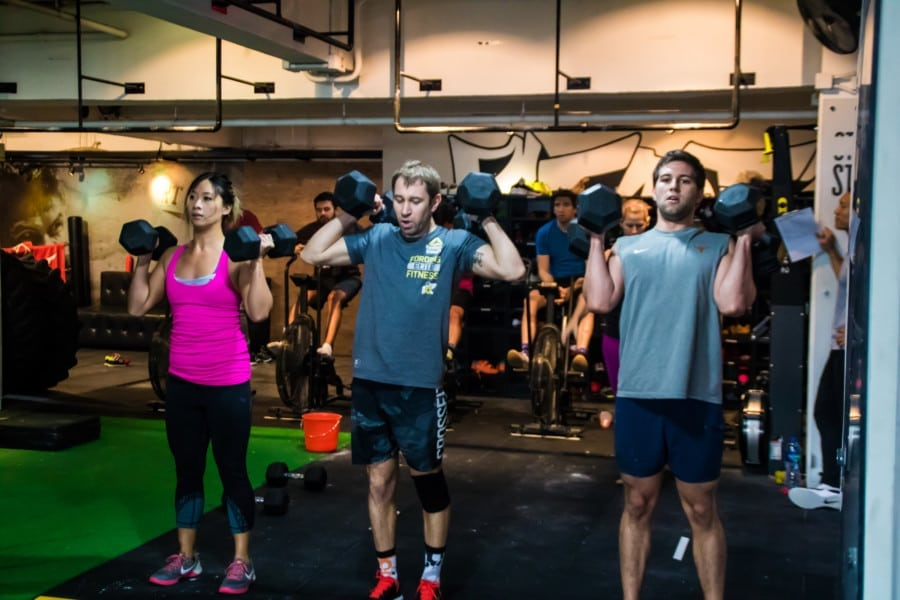 CrossFit Hong Kong The best CrossFit studios classes and gyms in Hong Kong Coastal Fitness