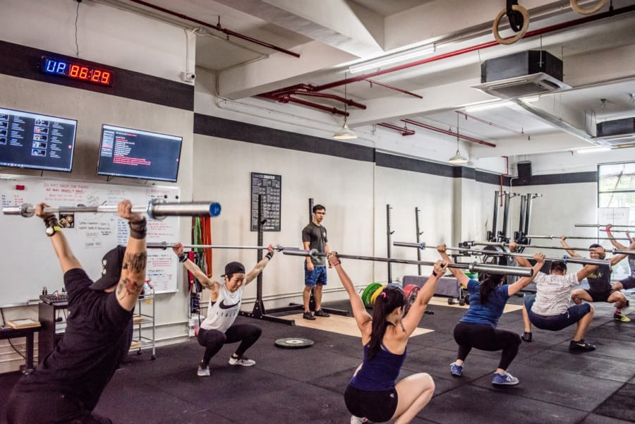 CrossFit Hong Kong The best CrossFit studios classes and gyms in Hong Kong to workout Fitness Academy Credits Susanna Yeung Photography