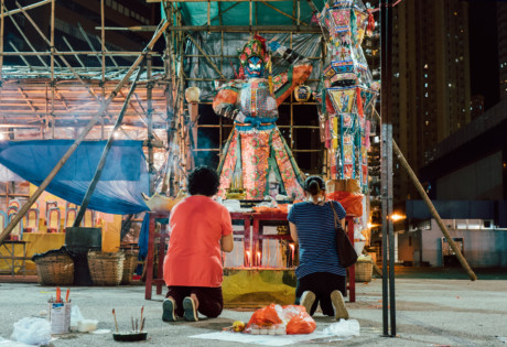 Hong Kong culture guide Hungry Ghost Festival Chinese opera burning paper gifts Chiu Chow Community MAIN