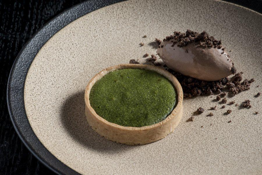 Matcha Hong Kong Ce La Vi matcha tart dessert Hong Kong green tea
