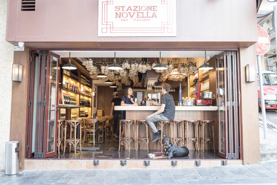 Stazione Novella central soho Hong Kong restaurant dog-friendly cafes