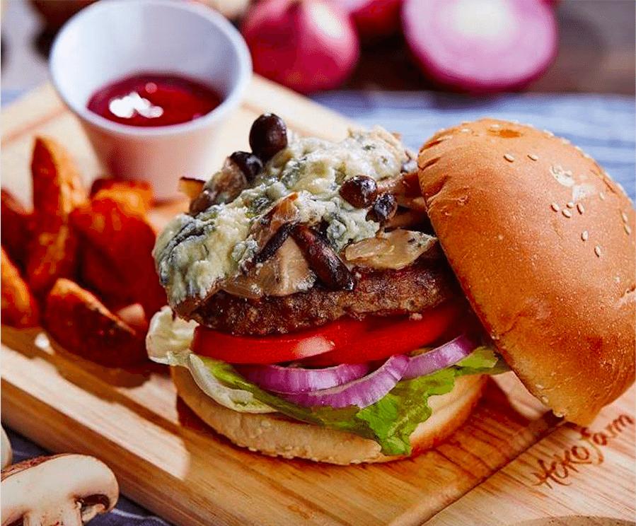 Wan Chai burger HOKO Farm