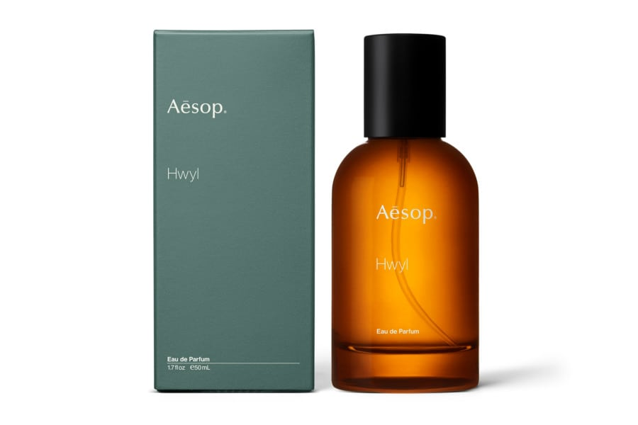 Beauty Hong Kong Aesop Hwyl fragrance French perfumer Barnabé Fillion bottle