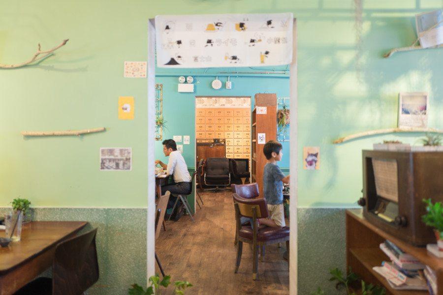 Garden Meow Cafe Interior Hong Kong PMQ