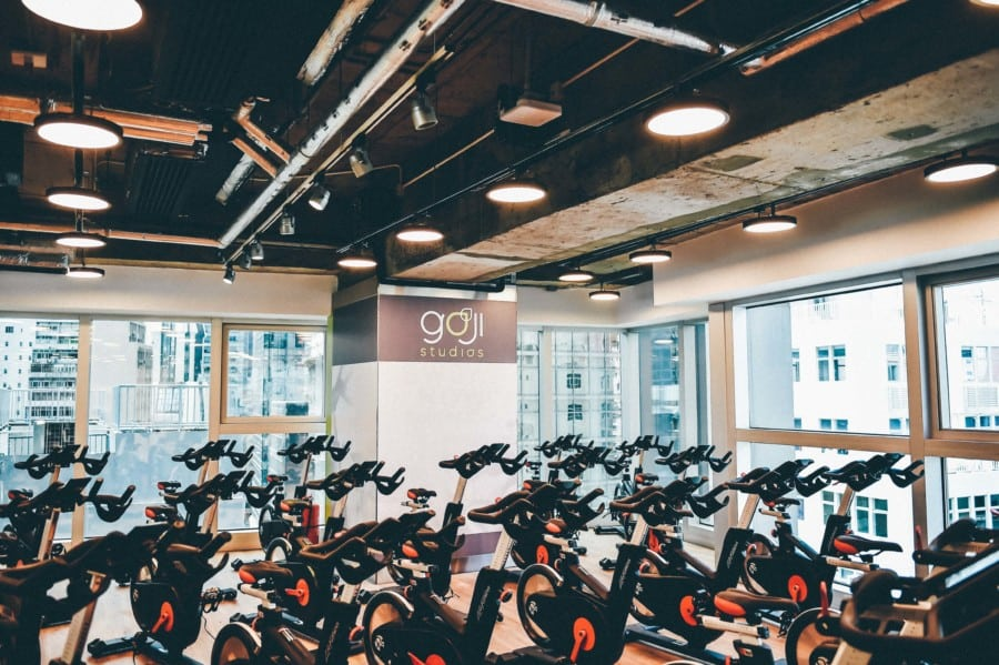 Goji Studios spin bikes