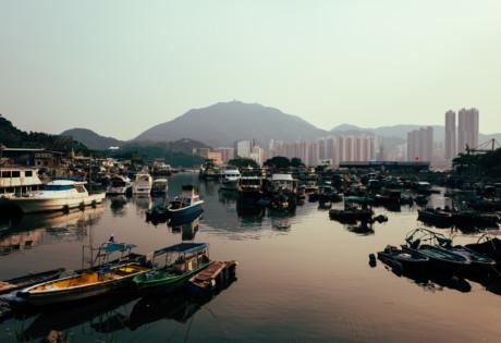 Lei Yue Mun boats