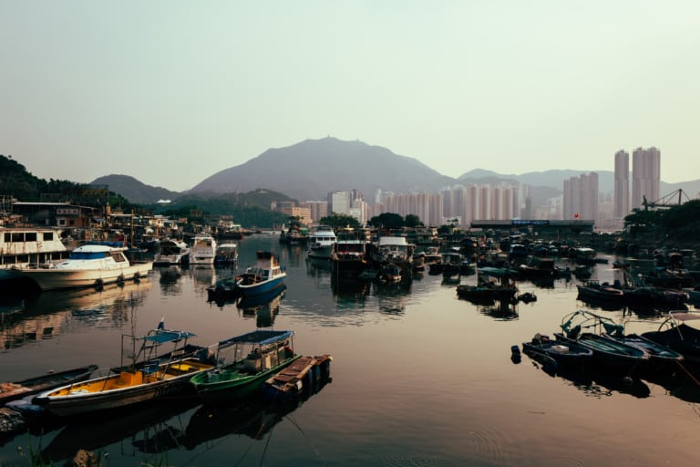 Lei Yue Mun is a hidden fishing village in Hong Kong that offers great seafood
