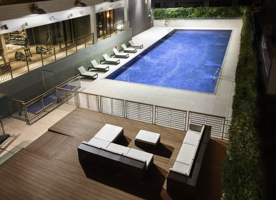 Pentahotel hong kong kowloon has us wanting to go back Tong high school swimming pool