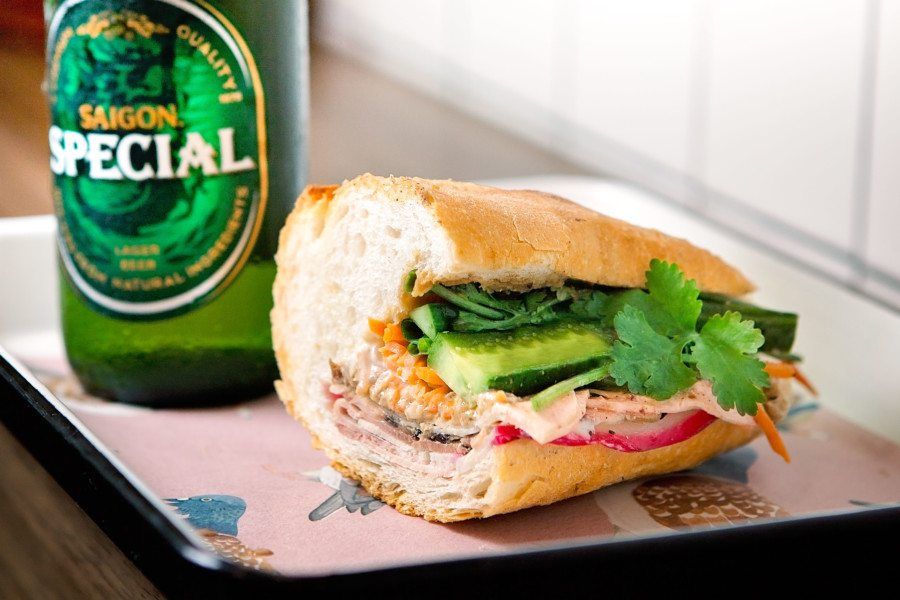 best happy hours hong kong banh mi beer