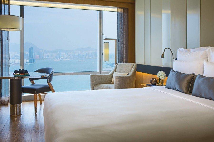 wan chai hotels renaissance harbour view interior of suite
