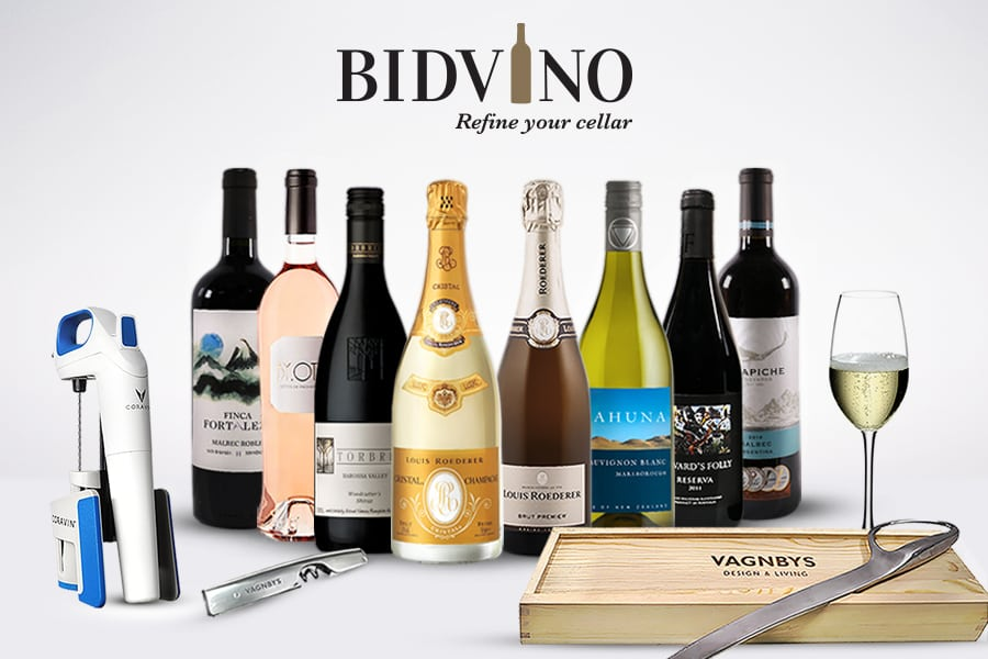 wine delivery bidvino has a wide selection of wines