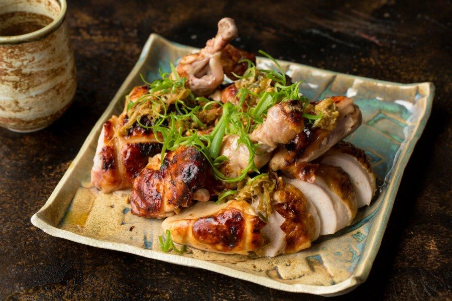 Nate Green interview spring chicken dish