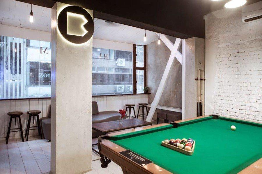 karaoke bars in Hong Kong black room pool table