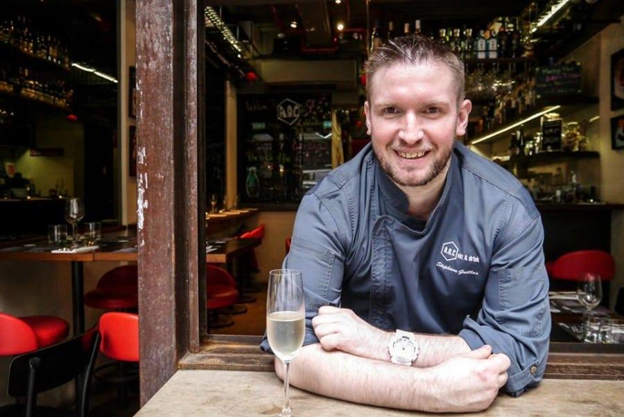 A.O.C Eat & Drink Stephane Guillas chef