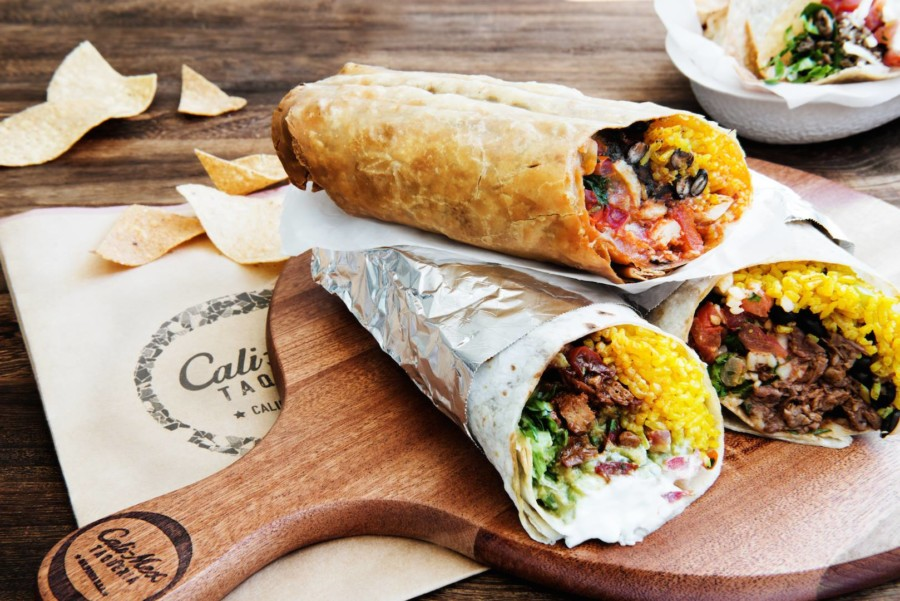 Mexican restaurants in Hong Kong Cali Mex burritos