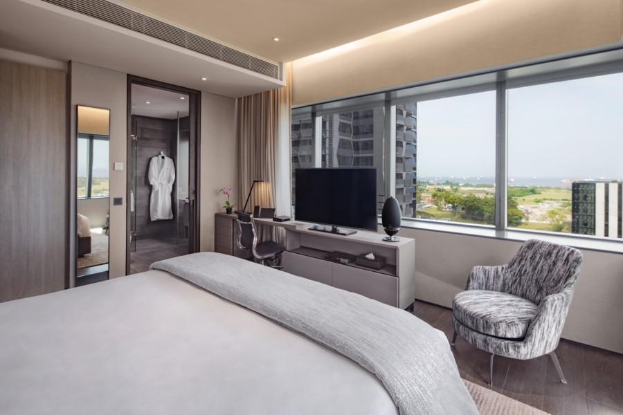 Oakwood Premier OUE Singapore room interior