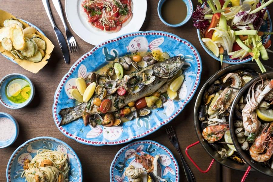 Osteria Marzia restaurant hong Kong The Fleming Wan Chai