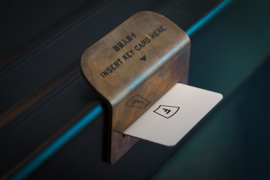 The Fleming Hong Kong boutique hotel design A work of Substance key card