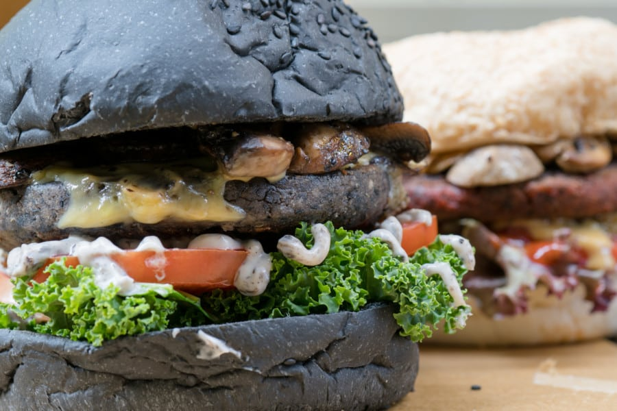 Veggi Monster burger vegan vegetarian burger Sheung Wan