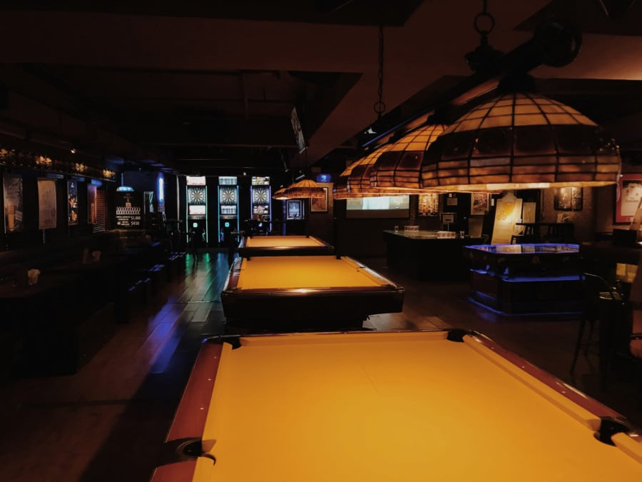 where to play pool in Hong Kong Billidart