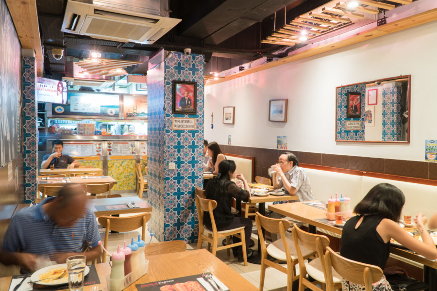 Halal restaurants in Hong Kong Halal food Istanbul Express Turkish Restaurant interiors