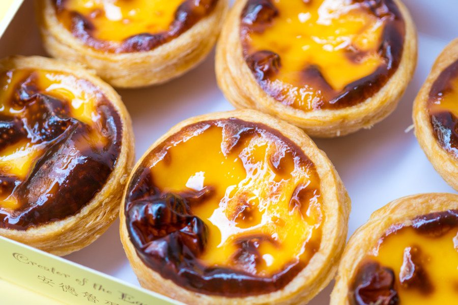 best egg tarts in hong kong expresso at the excelsior hotel