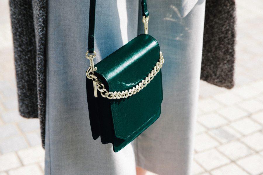 shop bags in Hong Kong CAFUNE green purse