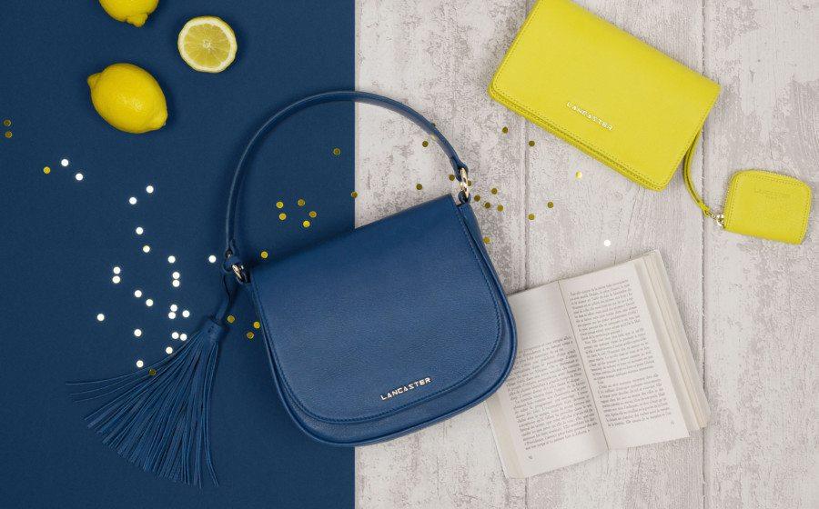 shop bags in Hong Kong LANCASTER blue bag