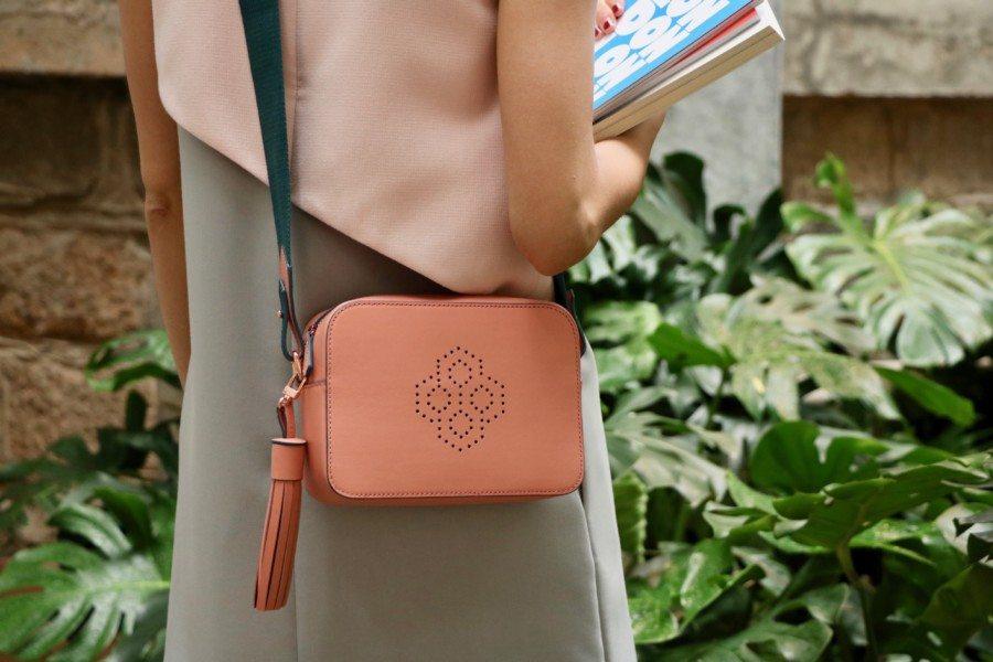 shop bags in Hong Kong MISCHA pink bag
