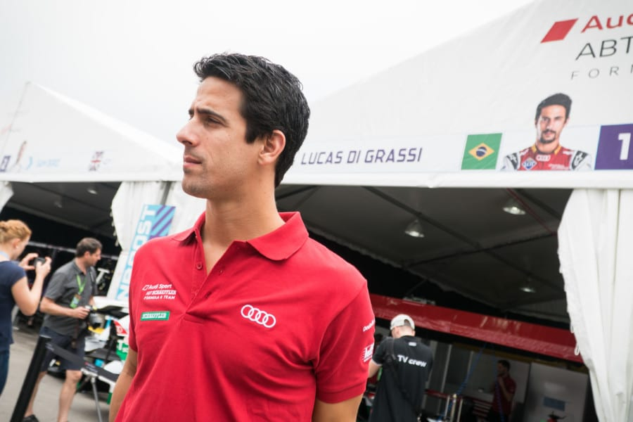 FIA Formula E Championship driver Lucas di Grassi talks about electric cars and the future of motoring in cities