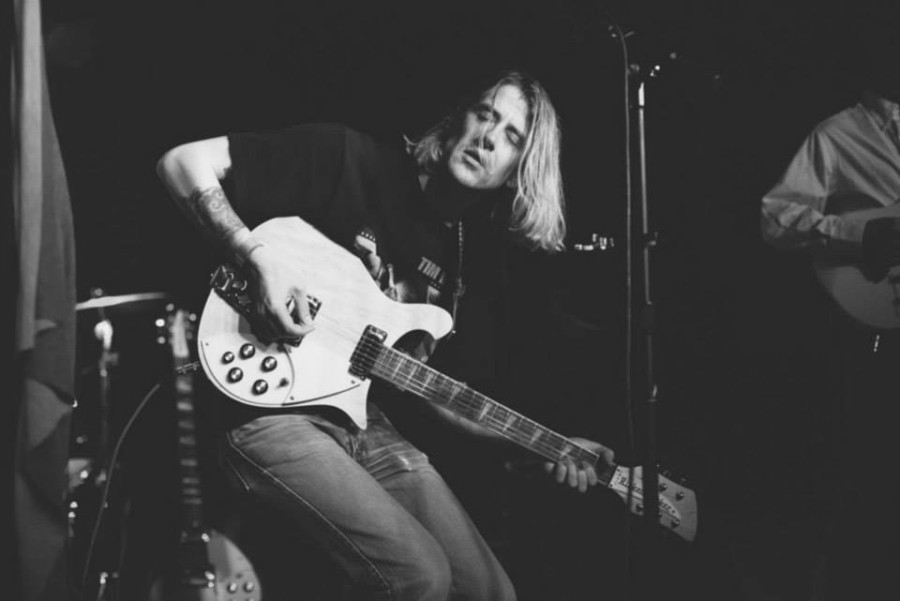 Christopher Owens singer songwriter indie Curls live in Hong Kong taken by Jeff Rutherford