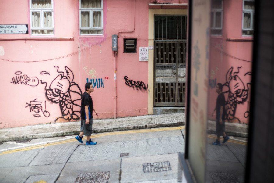 michael kistler street ohotography hong kong street art