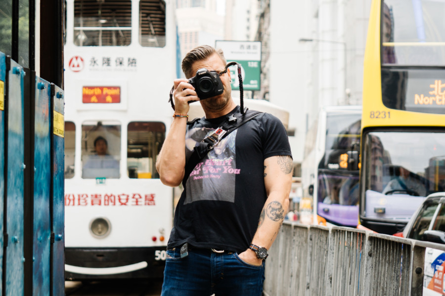 We talk to street photographer Michael Kistler about the road to becoming an artist in Hong Kong