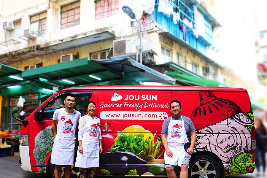 Jou-sun-team at market