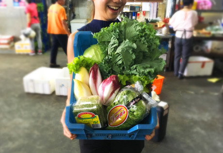 Jou Sun box of vegetables