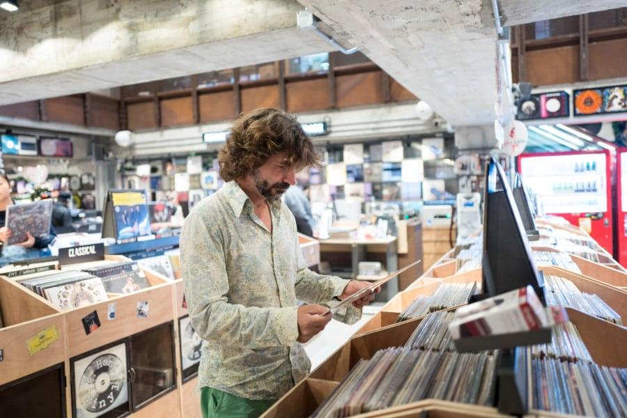 Nick Langford Vintage Vinyl HK vinyl record Hong Kong