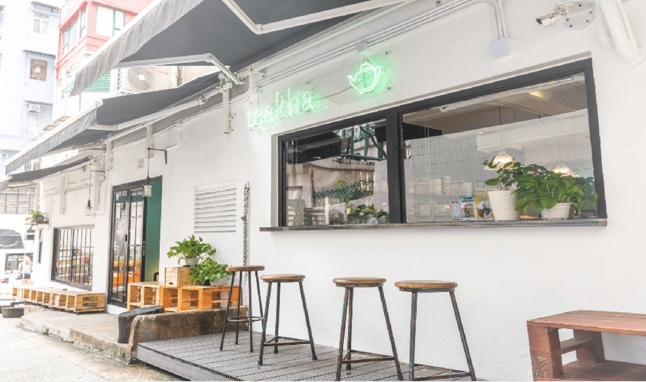 Teakha Hong Kong tea houses