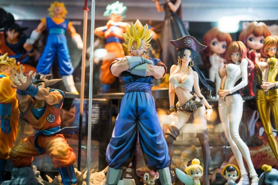 dragon balls sino centre mong kok japanese cds anime comics manga shops