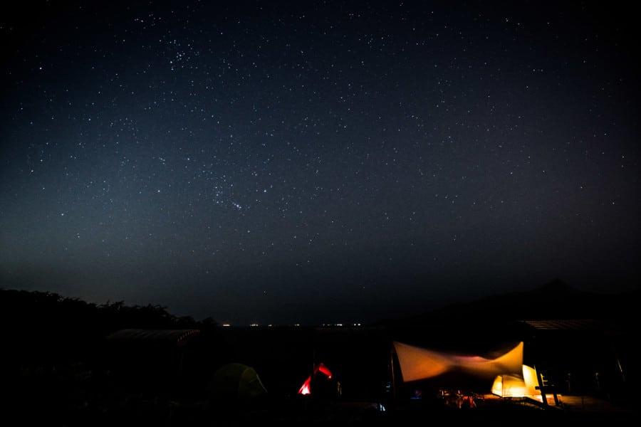 stars Tap Mun camping
